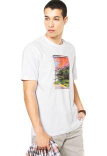 Camiseta West Coast Paisagem Branca