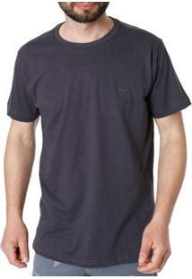 Camiseta Manga Curta Masculina Dixie Cinza