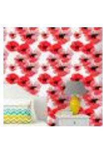 Papel De Parede Autocolante Rolo 0,58 X 3M - Floral 684