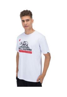 Camiseta O'Neill Califórnia Republic - Masculina - Branco