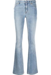 Zadig&Voltaire Calça Jeans Bootcut Cintura Alta - Azul