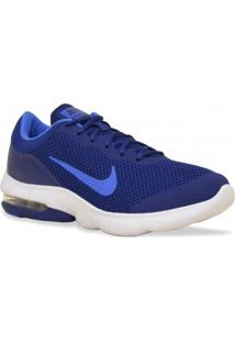Tenis Nike Running Air Max Advantage Marinho Azul
