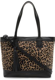 Bolsa Corello Shopping Bag Onça
