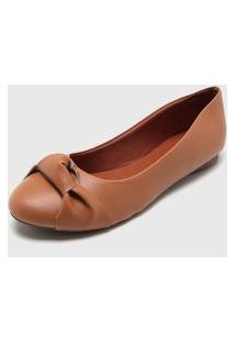 Sapatilha Dafiti Shoes Nó Caramelo