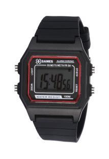 Relógio Digital X Games Xgppd109 - Feminino - Preto