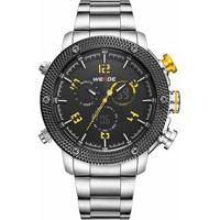 d8ff4010bc5 Relógio Weide Anadigi Wh-5206 - Masculino-Amarelo
