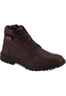 Bota Coturno Mr. Light Amsterdã Masculina - Masculino-Marrom