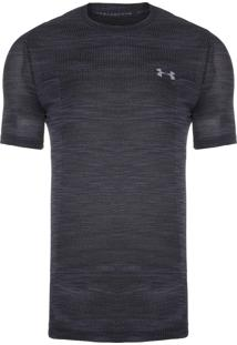 Camiseta Masculina Siphon Camo - Preto