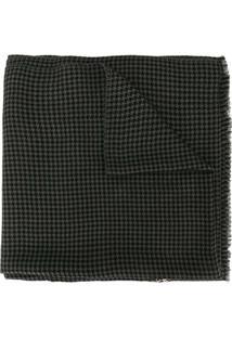 Janavi India Cachecol De Lã Merino Com Aplicação De Paetês - Cinza
