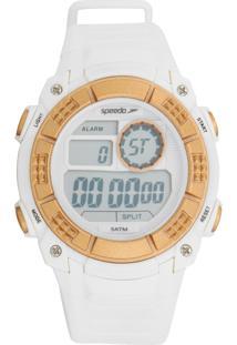 Relógio Speedo 11002L0Evnp2 Branco/Dourado