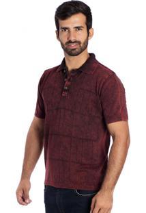 Camisa Polo Frames Le Tisserand Vermelho Stone