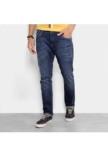 Calça Jeans Slim Reserva Estonada Masculina - Masculino