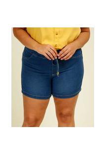 Short Plus Size Feminino Jeans