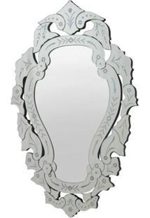 Espelho Veneziano Manequim Cor Prata 90 Cm (Alt) - 35319 Sun House