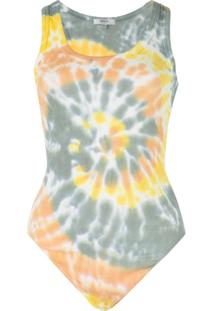 Agolde Blusa Tie Tye - Estampado