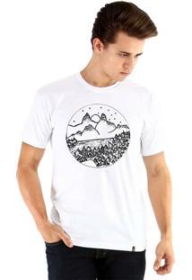 Camiseta Ouroboros Manga Curta Pinheiros Masculina - Masculino