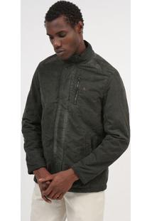 Jaqueta Com Bolsos - Verde Militararamis
