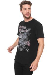 Camiseta Reserva Pedras Rolando Preta