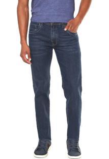 Calça Jeans Timberland Reta Straight Dark Azul