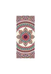 Adesivo Decorativo De Porta - Mandala - 2439Cnpt
