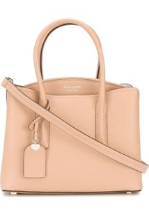 Kate Spade Bolsa Transversal Margaux Medium - Neutro