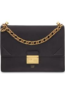 Fendi Kan U Shoulder Bag - Preto