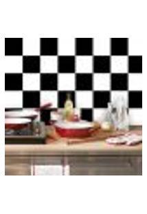 Adesivo De Azulejo Xadrez 15X15Cm