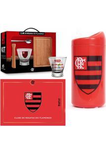 Kit De 3 Peças Flamengo Mengão