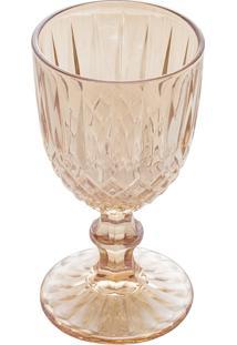 Conjunto 6 Taças Vidro Para Vinho Imperial Âmbar 245Ml