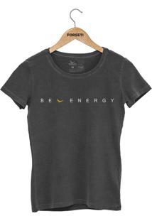 Camiseta Forseti Estonada Be Energy Chumbo - Kanui