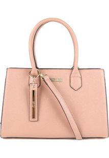 Bolsa Santa Lolla Handbag Feminina - Feminino-Nude
