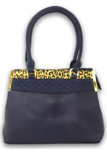 Bolsa Casual Sys Fashion 8527 Feminina - Feminino-Azul