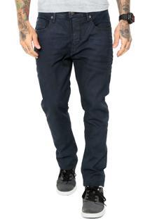 Calça Jeans Mcd Slim Bolsos Azul