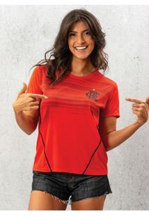 Camiseta Flamengo Dribble Vermelha
