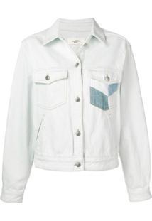 Isabel Marant Étoile Lindya Patchwork Denim Jacket - Azul