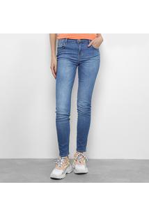 17bd49b34c ... Calça Jeans Skinny Coca-Cola Mid Cintura Média Feminina - Feminino