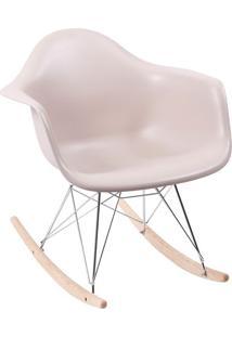 Poltrona Eames Dar- Fendi & Madeira Clara- 69X63X44Cor Design