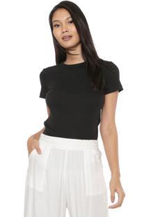 Camiseta Liz Easywear Canelada Preta