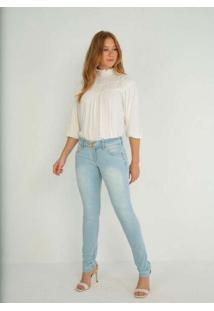 Calca Super Skinny Unico Jeans Multicores
