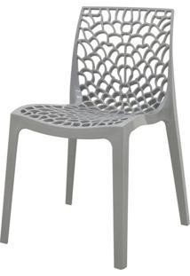 Cadeira Gruver Polipropileno Cinza - 34333 - Sun House