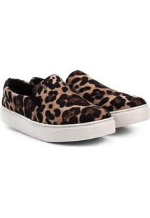 5483c9fee R$ 129,99. Netshoes Tênis Santa Lolla Slip On Flat Onça - Feminino