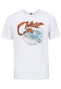 Camiseta O'Neill Estampada Locker - Masculina - Branco