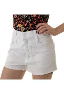 Shorts Arj Waist Double Oprk Feminino - Feminino