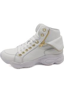 Tênis Sneaker Bmbrasil 250-04 Branco