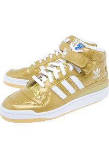 Tênis Adidas Originals Fórum Nigo Dourado
