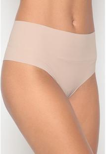 Calcinha Hot Pant Lisa- Marrom Claro- Bonjourbonjour