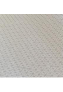 Papel De Parede Vinílico Liso Branco 53Cm Com 10 Metros