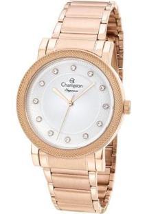 Relógio Champion Feminino Rose Gold Cn25707Z - Feminino-Rosa