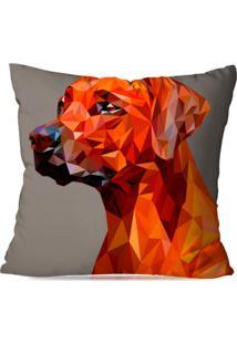 Capa De Almofada Avulsa Decorativa Dog Geométrico