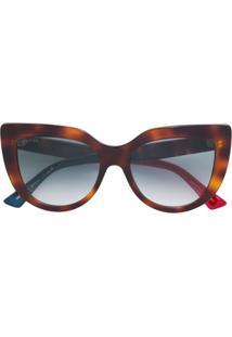 e250ce63058d2 R  1737,00. Farfetch Gucci Eyewear Óculos De Sol ...